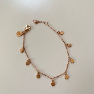 J crew! Demi rose gold bracelet